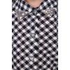 "Рубашка для девочки ""Клетка"" Д-РБ001 (104-134)"