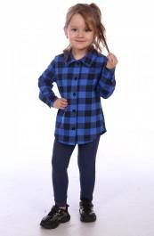 """Рубашка для девочки """"Техас"""" Д-РБ002 (110-140)"""