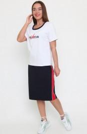 Костюм (футболка +юбка) Ш-0194 (42-46)