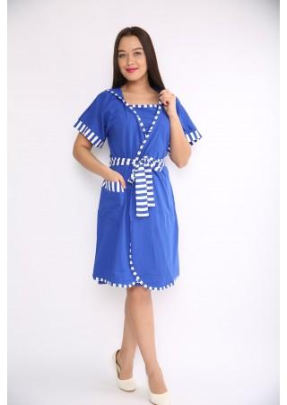 Комплект (халат, ночная сорочка) Р0250 (44-54)