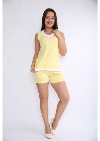Пижама с кружевом Р0407 (44-54)