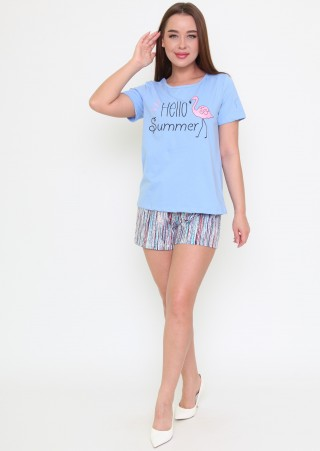 Костюм (футболка+шорты) Ш-0643-16 (42-44)