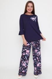 Костюм (блуза+брюки) Ш-0880 (44-54)