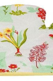 """Прихватка-варежка""""Весенние цветы"""""""