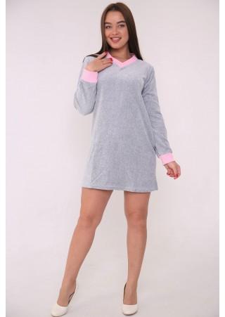 Платье-туника Премиум (Велюр) К-154 (44-50)