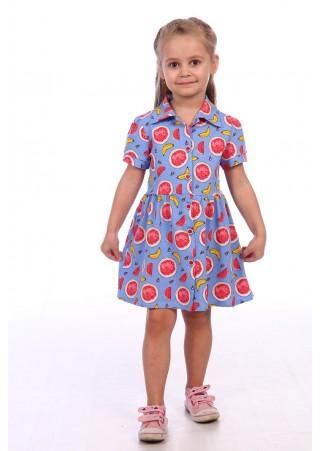 """Платье детское """"FRESH"""" Д-ПЛ076 (98-128)"""