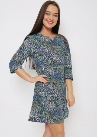 Туника-платье с пояском К-041 (42-52)