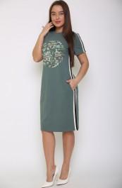 Платье В-208ХЛ2504П (44-54)