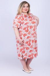 Платье-рубашка В-208ХР2675 (54-76)