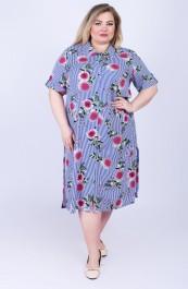 Платье В-208ШН2578 (56-66)