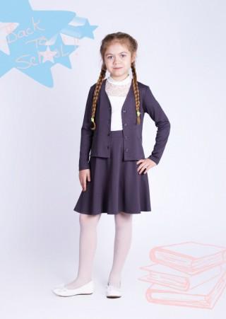"""Жакет для девочки """"Николь"""" В-402МИ2534 (30-38)"""