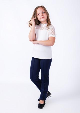 """Блузка для девочки """"Эмилия"""" В-401ХВ2530 (30-38)"""
