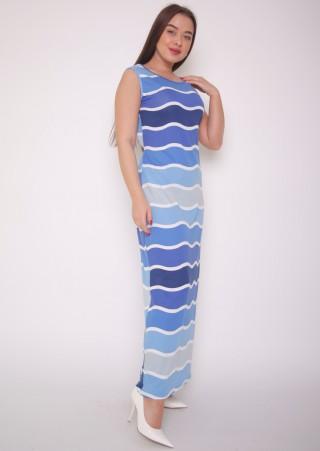 """Сарафан-платье """"Море"""" (42-52)"""