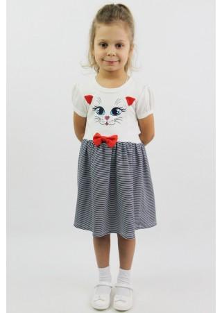 """Платье детское """"Мур-Мур"""" Д-ПЛ035 (86-110)"""