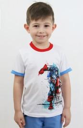 "Футболка детская ""Супермен"" Д-Ф015 (98-122)"