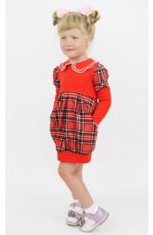 """Платье детское """"Иринка"""" Д-ПЛ028 (98-122)"""