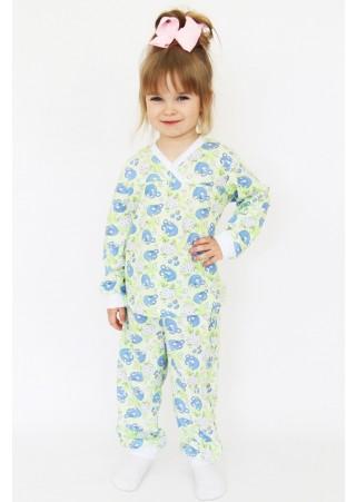 Пижама детская кулирка Д-ПЖ010 (86-128)