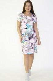 Платье М-18В(розов) (44-58)