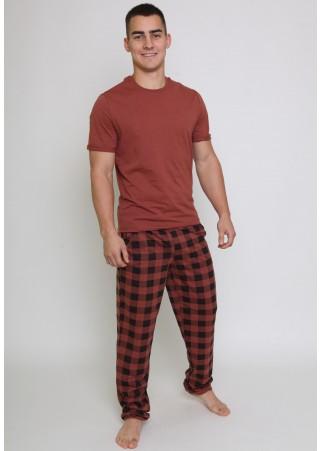 Пижама (футболка + брюки) Ш-1000-19 (48-58)