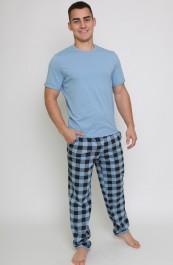 Пижама (футболка + брюки)  Ш-1000-16 (48-58)