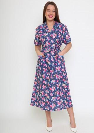 Халат-платье БЯЗЬ М-27(46-70)