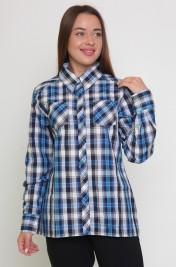 Рубашка на клепках М-117 (42-54)