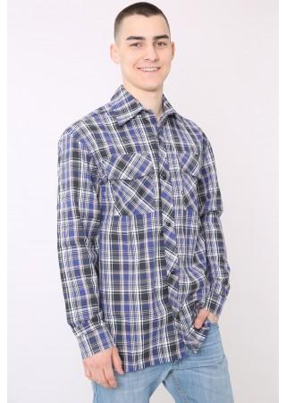 Рубашка мужская М-14 (46-68)