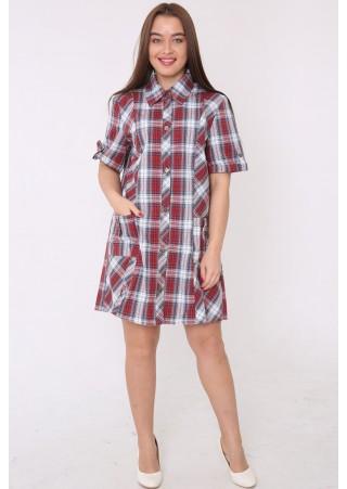 Рубашка-халат-туника М-55 (44-62)