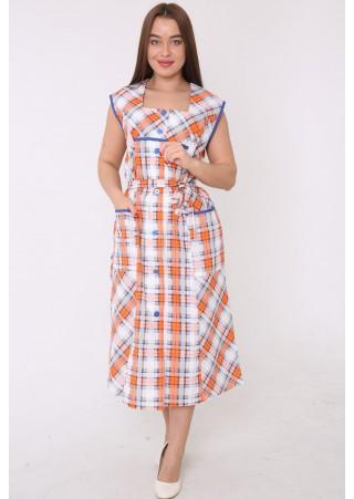 Халат-платье БЯЗЬ М-59 (46-62)