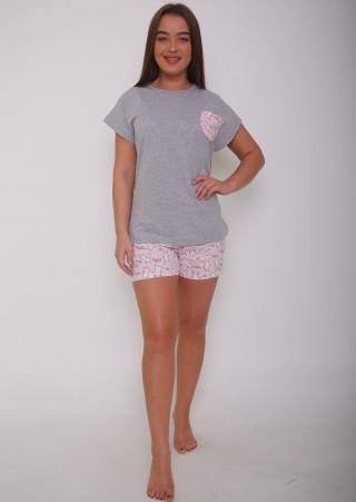 Пижама с шортами Р0422 (44-54)