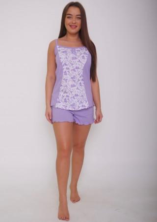 Пижама с шортами Р0423 (42-52)