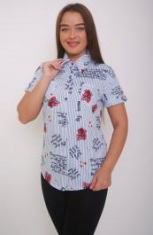 Рубашка-блузка М-172 (44-62)
