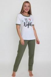 Пижама (футболка+брюки) Ш-0825-65 (42-56)