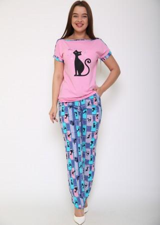 Пижама с брюками Р0420К (44-54)