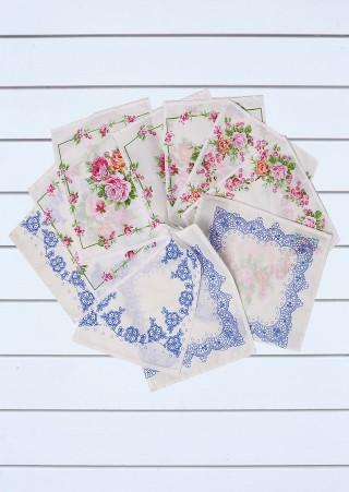 Детские носовые платки (10 штук)